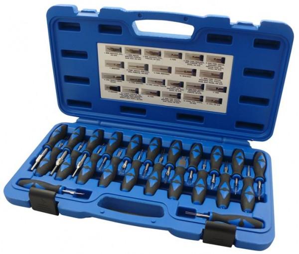 Entriegelungs / Löse-Werkzeug Set 23 tlg. ISO Stecker