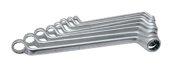 Doppelringschlüssel-Satz, 8-teilig 6-22 mm, ELORA-110S 8DIN