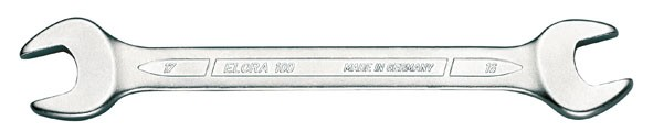 Doppelmaulschlüssel DIN 3110, ELORA-100-18x19 mm