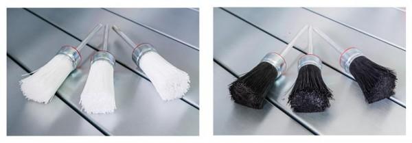 Auswahl: Pinsel hart oder weich für Teilewaschgeräte