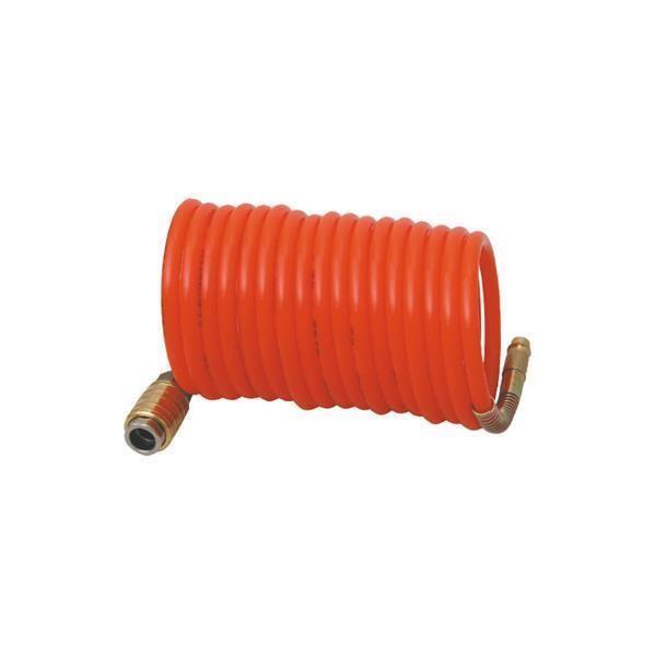 Druckluft Spiralschlauch 6 x 8 mm / 5 - 10 - 15 m