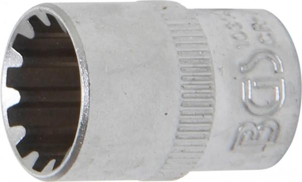 """Steckschlüssel-Einsatz """"Gear Lock"""", 3/8"""", 14 mm"""