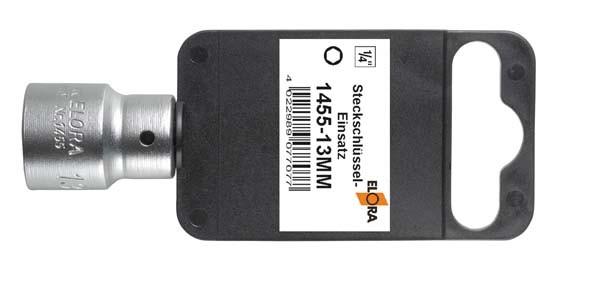 """Kunststoffaufhänger 1/4"""", ELORA-1455-SB"""