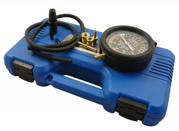 Diagnose Druckmessgerät und Unterdruckmessgerät Set 9 tlg.