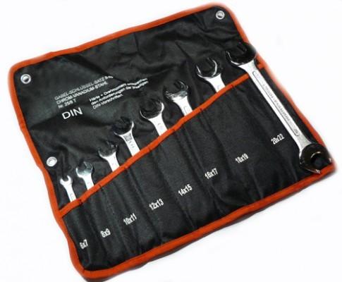 Werkzeug Maulschlüssel Satz 8 tlg. 6 - 22 mm