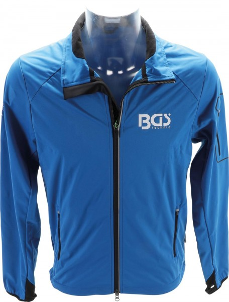 BGS® Softshelljacke Größe S - 4XL