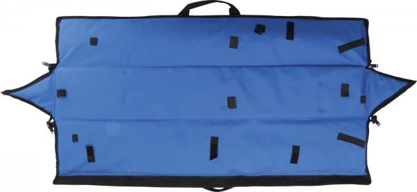 Reißverschlußtasche, blau für Art.Nr. 52, leer