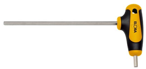 Sechskant-Schraubendreher mit T-Griff, ELORA-159W-3 mm