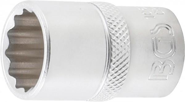 Steckschlüssel-Einsatz 12-kant, 12,5 (1/2), 17 mm