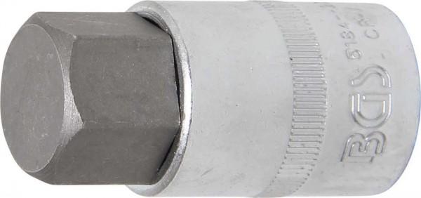 """Bit-Einsatz 1/2"""", Innen-6-kant, 22x55 mm"""