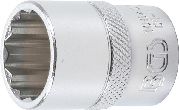 Steckschlüssel-Einsatz 12-kant, 12,5 (1/2), 20 mm