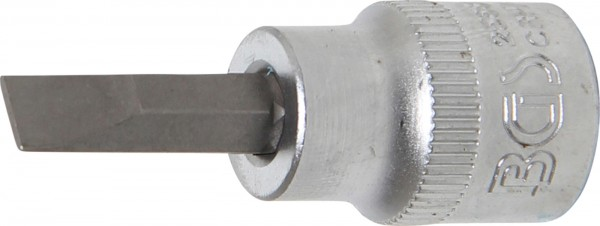 """Bit-Einsatz, 3/8"""", Schlitz, 7 mm"""