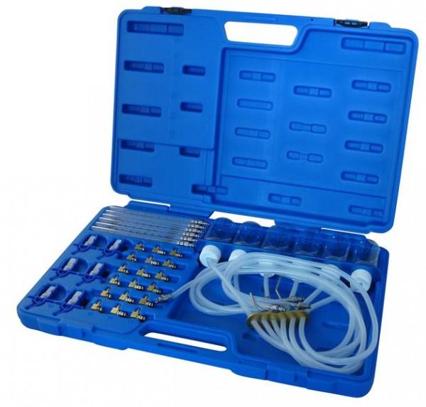 Common Rail - Injektorrücklauf - Mengenmessgerät mit 24 Adaptern