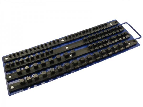 Halter für Bits und Stecknüsse kombiniert 80 tlg.