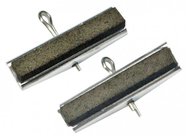 2 Ersatzbacken für Art. 19315, 30 mm Backen, Körnung # 220