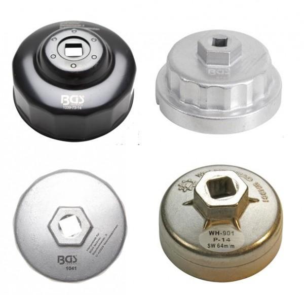 Auswahl: Ölfilterkappe 14-kant 64-76 mm