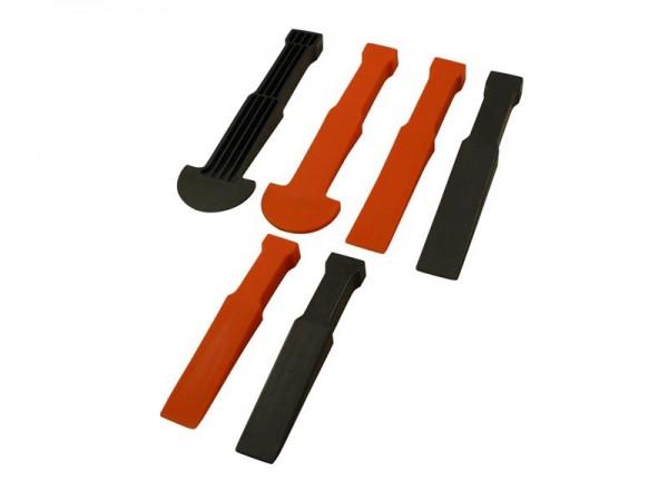 Kunststoff Löse-Ausbauwerkzeug Set 6tlg. Kratzfrei