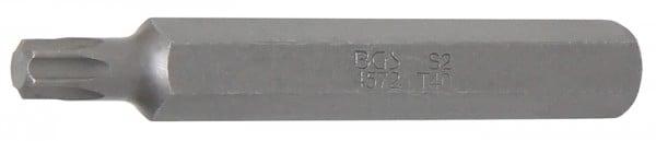 "T-Profil Bit ohne Bohrung, 75 mm lang, T40, 3/8"""