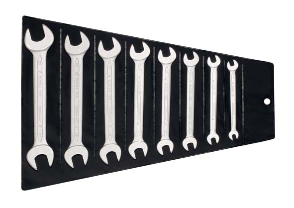 Doppelmaulschlüssel-Satz DIN 3110, 6-teilig 6-22 mm, ELORA-100S 8MSB