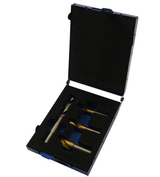 HSS Kobalt Schweißpunktbohrer Set 4 tlg. / 6.5 - 10 mm