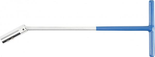 Zündkerzenschlüssel mit Kugelgelenk, 375 mm lang, 16 mm
