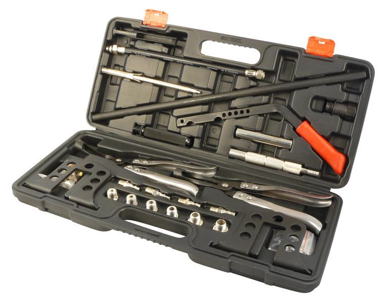 Reifenventil Montage Werkzeug Satz ohne Reifen Gummiventil Demontage 3 tlg