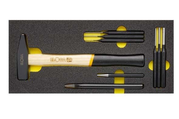 Handschlagwerkzeugsatz, 9-teilig Modul ELORA-OMS-12
