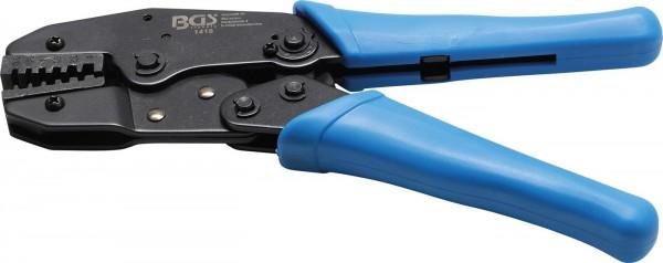 Werkstatt Kabelschuhzange mit Ratschenfunktion 0,5-4 mm².