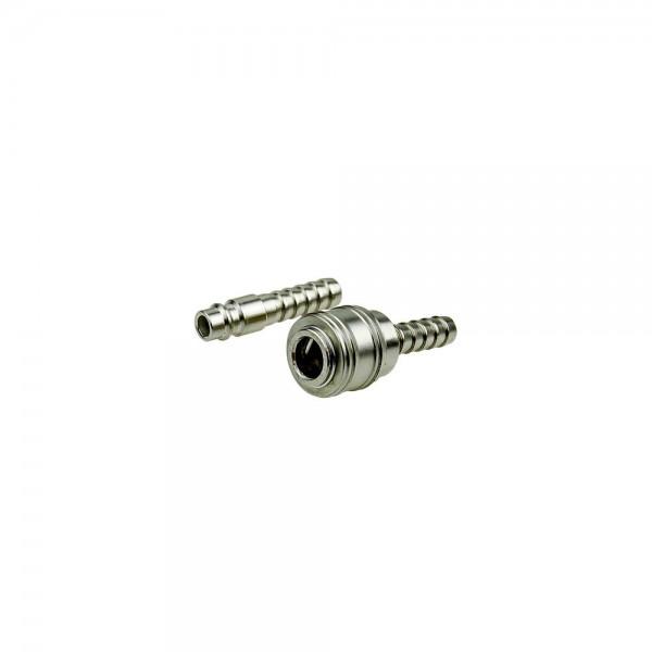 Druckluft Set Stecknippel / Schnellkupplung 10 mm Schlauchtülle