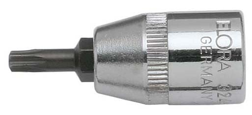 """Schraubendreher-Einsatz 3/8"""", TORX®, ELORA-3244-TTX 10"""