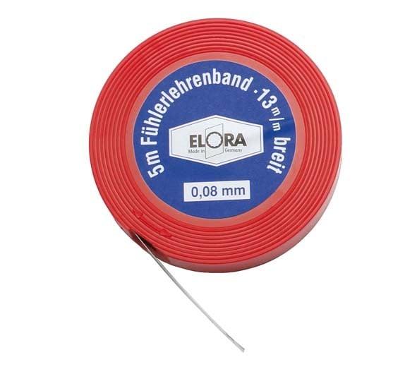 Fühlerlehrenband, Blattstärke 0,08 mm, ELORA 197-08