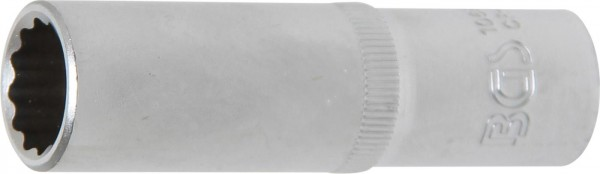 Steckschlüssel-Einsatz, tief, 12-kant, 12,5 (1/2), 15 mm