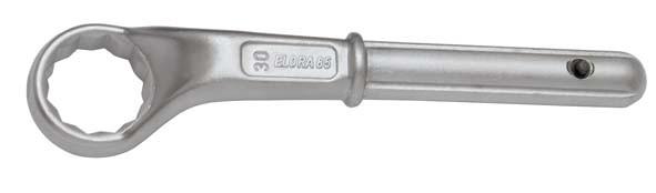 Zugringschlüssel, ELORA-85-80 mm