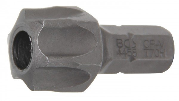 """T70 Bit mit Bohrung, 30 mm lang, 5/16"""" Antrieb"""