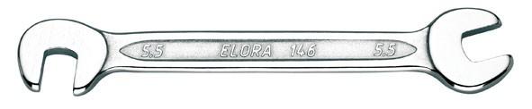 Doppelmaulschlüssel, klein, ELORA-146-11x11 mm