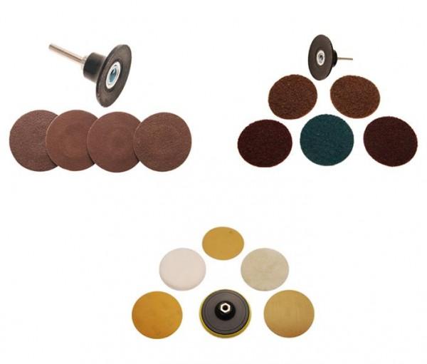 Schleifscheiben mit Aufnahmeteller, 50 - 125mm