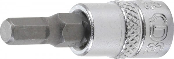 """Bit-Einsatz 1/4"""", Innen-6-kant 5 mm"""