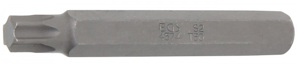 "T-Profil Bit ohne Bohrung, 75 mm lang, T50, 3/8"""