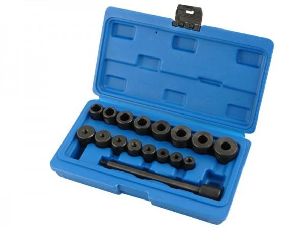 Kupplungszentrierdorn Werkzeug universal 17 tlg.