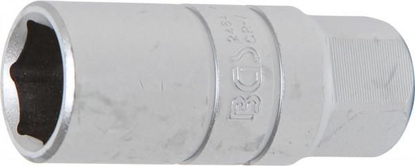 """Zündkerzen-Einsatz, speziell für Motorräder, 3/8"""" Antrieb, SW 18 mm"""