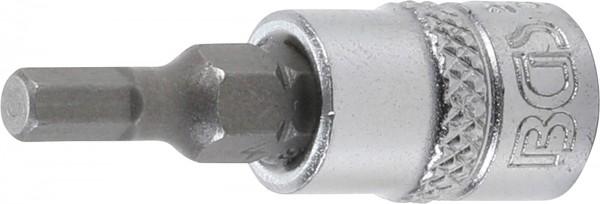 """Bit-Einsatz 1/4"""", Innen-6-kant 4 mm"""