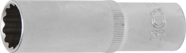 Steckschlüssel-Einsatz, tief, 12-kant, 12,5 (1/2), 16 mm