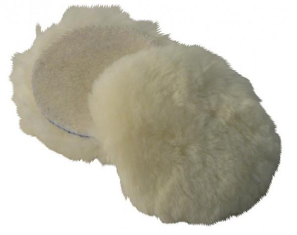 Polieraufsatz Wollhaube 75mm für Akku Poliermaschine