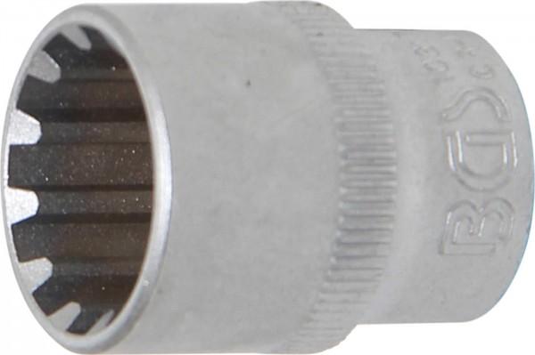 """Steckschlüssel-Einsatz """"Gear Lock"""", 3/8"""", 17 mm"""