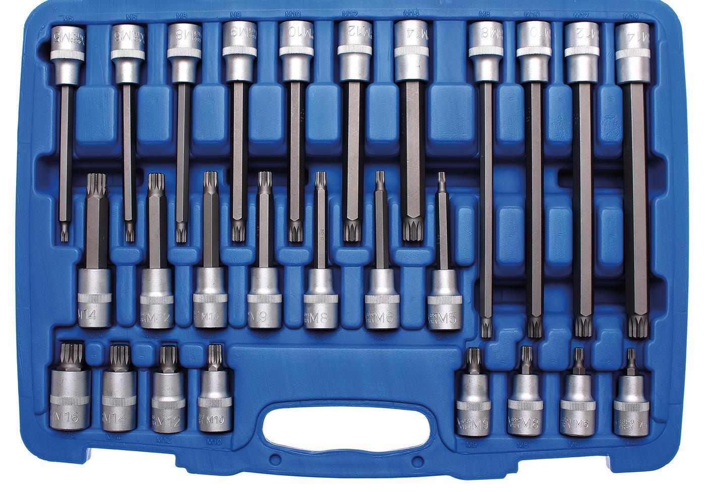 BGS Bitsatz Ribe Bits Werkzeug Zylinderkopf für VW Audi VAG