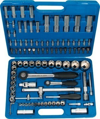 Steckschlüsselsatz 98 tlg. Werkzeugkoffer