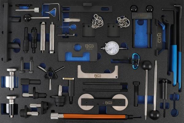 Werkstattwageneinlage 3/3: Motor-Einstellwerkzeug-Satz | für Ford, VAG, Mazda, Volvo