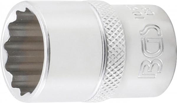 Steckschlüssel-Einsatz 12-kant, 12,5 (1/2), 19 mm