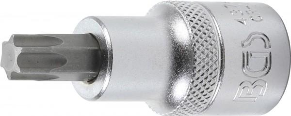 "Spezial-T-Profil-Einsatz, 1/2"", o. B., 53 mm lang, T50"