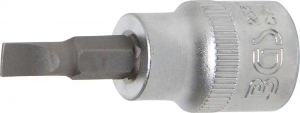 """Bit-Einsatz, 3/8"""", Schlitz, 5,5 mm"""